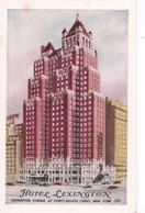 Carte 1920 HOTEL LEXINGTON / NEW YORK CITY - Cafés, Hôtels & Restaurants