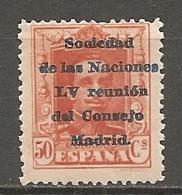 ESPAGNE - Yv. N° 389 ** MNH  50c  Réunion Madrid Cote 4 Euro TBE  2 Scans - 1889-1931 Kingdom: Alphonse XIII