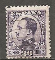 ESPAGNE - Yv. N° 407 (o)  20c  Alphonse XIII Cote 0,75 Euro BE   2 Scans - 1889-1931 Kingdom: Alphonse XIII