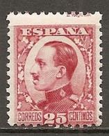 ESPAGNE - Yv. N° 408  ** MNH  25c  Alphonse XIII Cote 1 Euro TBE   2 Scans - 1889-1931 Kingdom: Alphonse XIII