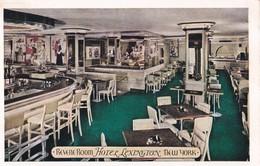 Carte 1920 REVERE ROOM / HOTEL LEXINGTON / NEW YORK - Cafés, Hôtels & Restaurants