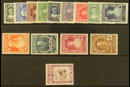 1926 Red Cross Postage Set And Express Letter 20c, Mi. 298/311, Fine Never Hinged Mint. (14 Stamps) For More Images, Ple - Spain