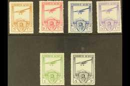 "1930 Railway Congress Complete Air Set With ""A000,000"" (SPECIMEN) Control Figureson Back, Edifil 483N/88N (as SG 547/52 - Spain"
