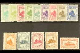 """1930 Railway Congress Complete Postage Set And Express Stamp All With """"A000,000"""" (SPECIMEN) Control Figureson Back, Edi - Spain"""