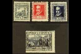 "1935 Tercentenary ""Lope De Vega"" P11½ Set, SG 781/4, Mi 642A/45A, Never Hinged Mint (4 Stamps) For More Images, Please V - Spain"