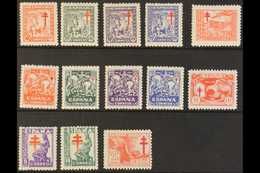 1944-1946 Anti-TB Complete Sets All With'A000,000' (SPECIMEN) Control Figures On Back, Edifil 984N/88N, 993N/97N & 1008 - Spain