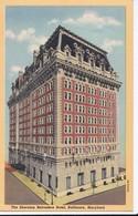 Carte 1920 THE SHERATON BELVEDERE HOTEL , BALTIMORE , MARYLAND - Baltimore