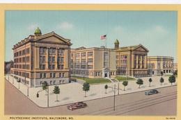 Carte 1920 POLYTECHNIC INSTITUTE , BALTIMORE , MARYLAND - Baltimore