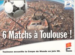 6 Matchs à Toulouse! - Fútbol