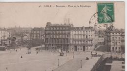 NORD - 93 - LILLE - Panorama - Place De La République - Lille