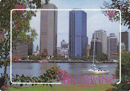 Brisbane City Skyline From Kangaroo Point - Brisbane