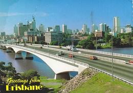 Brisbane The Captain Cook Bridge 1984 - Brisbane