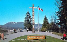 1 AK Kanada * Totempfahl Am Prospect Point Im Stanley Park In British Columbia * - Indianer
