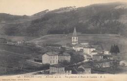 42 - Ecoche - Route De Cadolon - Un Beau Panorama - ( Alt : 450 M ) - L'Eglise - France