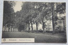 CPA TIENEN Tirlemont Boulevard Slicsteen - Tienen