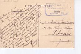 Mirecourt Avec Cachet Service Garde Voies De Communications De Ceintrey  1915 - Marcophilie (Lettres)