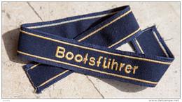 Bande De Bras Bootsführer - Militaria