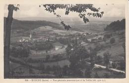 42 - Ecoche - Un Beau Panorama - ( Alt : 450 M ) - L'Eglise - La Vallée - France