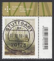Bund - Neuheiten 2018 Mi. 3411 - Rundgestempelt - BRD