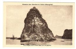 SHANGHAÏ - Mission Des Jésuites En Chine - L' Ile D' Argent, Sur Le Fleuve Bleu (avec Ses Pagodes) - China
