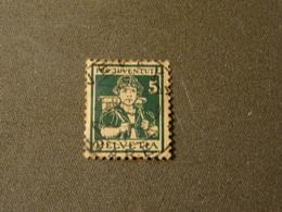 SUISSE  1916 PRO JUVENTUTE Oblitéré  5+5 Cts  Numero 152 YT - Switzerland