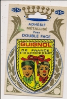 Carte Postale NEM Adhésif Métallisé Pose Double Face -- GUIGNOL De FRANCE Et De La Pépinière De Nancy - Postcards