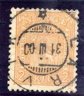 NORWAY 1867 Arms 2 Sk.  Used. Michel 12 - Norway
