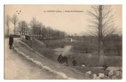18 CHER - LUNERY Route De Chanteloup - France