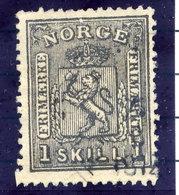 NORWAY 1868 Arms 1 Sk.  Used. Michel 11 - Norway