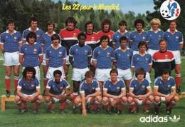 Thèmes > Sports > Football Les 22 Pour Le Mondial 1982 - Football
