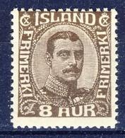 +D3179. Iceland 1920. King Christian X. Michel 88. MNH(**) - 1918-1944 Autonomous Administration
