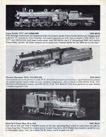 Catalogue OVERLAND MODELS INC. August 1987 Dealer Update - Boeken En Tijdschriften