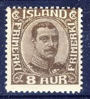 +D3181. Iceland 1920. King Christian X. Michel 88. MNH(**) - 1918-1944 Autonomous Administration