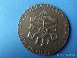 MEDAGLIE PAPALI Sede Vacante 1978 - Italy
