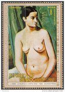 """271 Guinea Equatoriale 1972  """" La Donna Della Tenda Verde """" Quadro Dipinto Da A. Derain Nuovo MNH Paintings Equatorial - Guinea Equatoriale"""