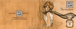 Vieux Papiers > Publicités Nevers 37 Rue Du Commerce Coryse Salomé TOCADE - Publicités