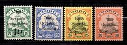 Togo Maury N° 2 Type II, N° 3, N° 4 Et N° 5 Neufs *. Signés Bühler. B/TB - Togo (1914-1960)