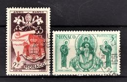 MONACO 1951 -  N° 356 ET 357 - OBLITERES - Used Stamps