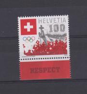 SWITZERLAND - SUISSE - SCHWEIZ  2018 - PyeongChang - Winter Olympic Games  -Jeux Olympiques D'hiver - Set 1 Val. MNH** - Switzerland