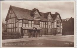 STRATFORD-UPON-AVON  SHAKESPEARE HOUSE  VALENTINE'S PC - Stratford Upon Avon