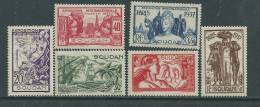 Soudan  N° 93 / 98 X  Exposition Internationale De Paris :  La Série Des 6  Valeurs Trace De Charnière Sinon TB - Soudan (1894-1902)