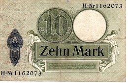 10 MARK 6 Oktober 1906 - [ 2] 1871-1918 : Impero Tedesco