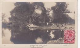 RHODESIA, SCENERY ON LAKE N'GAMI. SMAR & COPLEY. BULAWAYO. CIRCULEE 1913 A BELGIQUE-RARE- BLEUP - Zimbabwe
