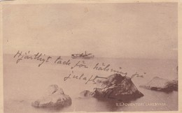 RHODESIA. S.S. ADVENTURE LAKENYASA. CIRCULEE 1904 A SWEDEN. STAMP A PAIR-RARE- BLEUP - Zimbabwe
