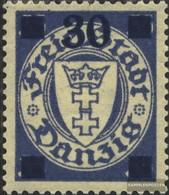 Danzig 242a Gestempelt 1934 Aushilfsausgabe - Dantzig