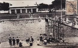 RHODESIA. MUNICIPAL BATHS, BULAWAYO. BREOWN'S BAZAAR. CIRCULEE CIRCA 1915s TO CONGO BELGE. SWIMSUIT MAILLOT-RARE- BLEUP - Zimbabwe