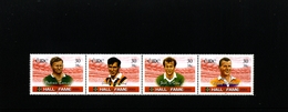 IRELAND/EIRE - 2001  HALL OF FAME  STRIP  MINT NH - Blocchi & Foglietti