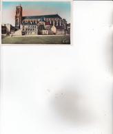 CPA 02 SOISSONS ,la Cathédrale. - Soissons