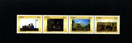IRELAND/EIRE - 2002  NATIONAL GALLERY  STRIP  MINT NH - Blocchi & Foglietti