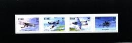 IRELAND/EIRE - 2000  MILITARY AVIATION  SELF ADHESIVE  SET  MINT NH - Blocchi & Foglietti